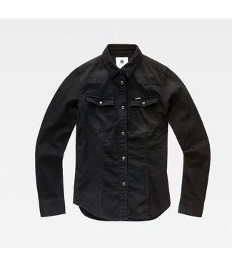 G-Star 3301 shirt wmn black D14582-B496-071