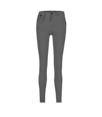 PENN&INK N.Y Trousers cross zwart W19N600A