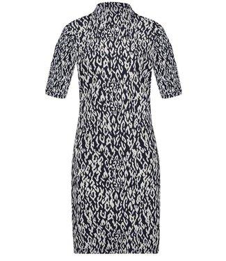 PENN&INK N.Y Dress print zwart w19n572dm