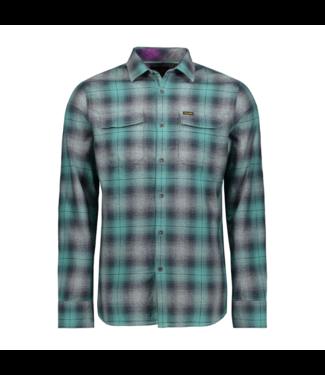 PME Legend Long Sleeve Shirt Check Oil Blue PSI195221-5224