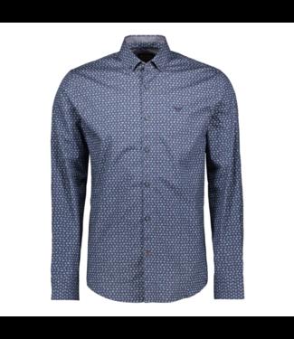 PME Legend Long Sleeve Shirt Poplin Print Salute PSI195216-5281