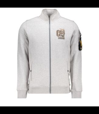 PME Legend Zip sweat jacket Light Grey Melee PSW195404-921
