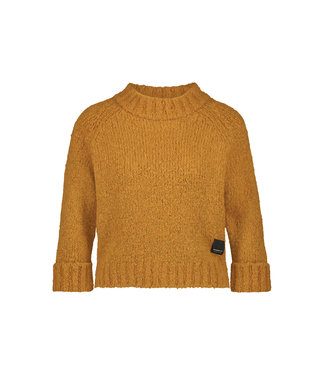 Pullover geel W19L099