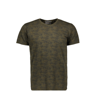 No Excess T-Shirt R-neck, green Print 92350702