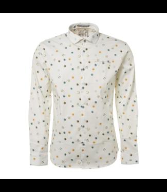 No Excess Shirt allover digital printed white 92430702