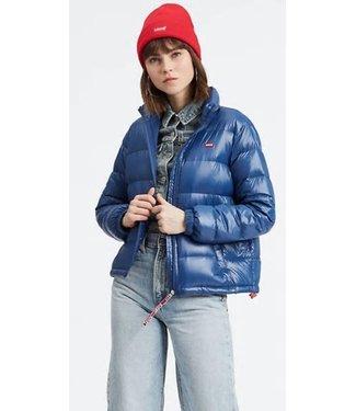 Levi's Francine down jacket blauw 79590-0002
