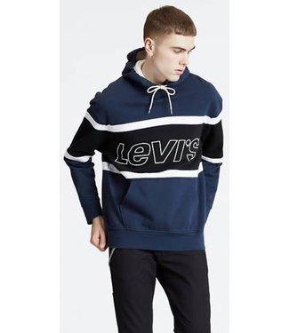 Levi's Pieced Hoodie racer blauw 81954-0001