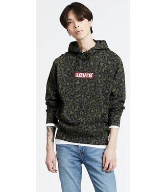 Levi's Graphic po hoodie groen 19491-0080
