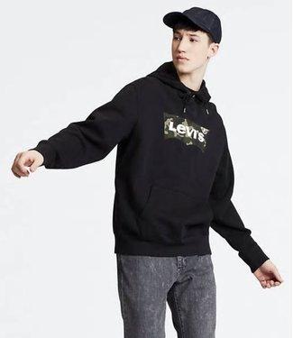 Levi's Graphic hoodie zwart 19491-0090