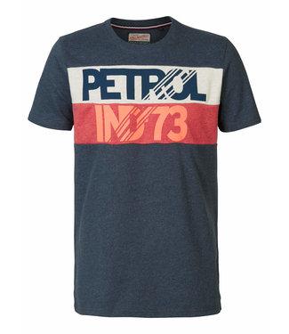Petrol Industries T-shirt r-neck donkerblauw M-3090-TSR609