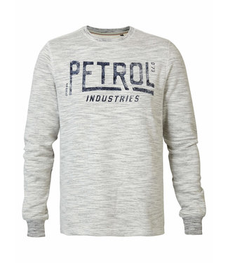 Petrol Industries Sweater r -neck off white M-3090-SWR326