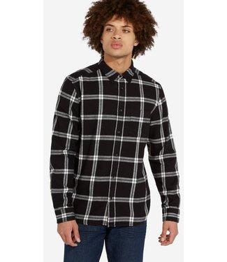 Wrangler Longsleeve 1pocket shirt zwart W5A1T2100