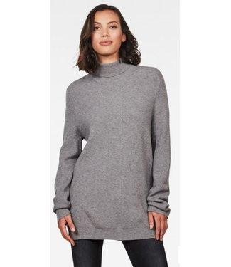 G-Star City armour turtle knit grijs D15822-B415-906