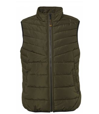 No Excess Bodywarmer, polyester with padding, green Print 92630720