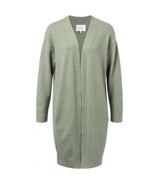 Yaya Long cardigan utility green 101038-923