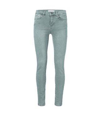 Yaya Colored skinny jeans DEEP GREEN 120132-923