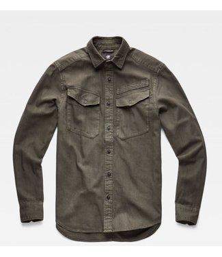 G-Star Army straight shirt groen D14067-7647-995