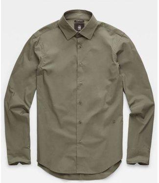G-Star Core super slim shirt groen D03691-7085-722