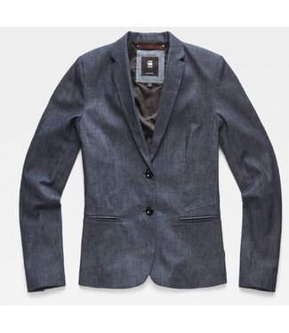 G-Star Classic slim blazer blauw D14999-7826-001