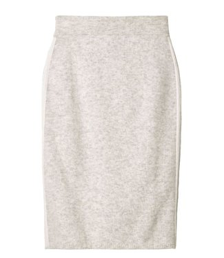 10Days Skirt merino wool off white 20-680-9103
