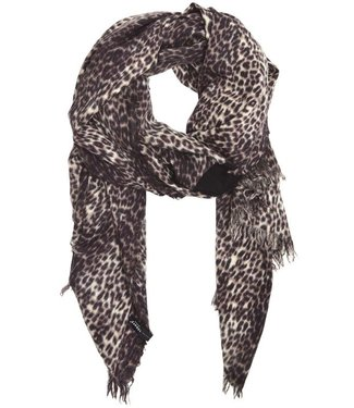 10Days Scarf leopard off white 20-908-9103