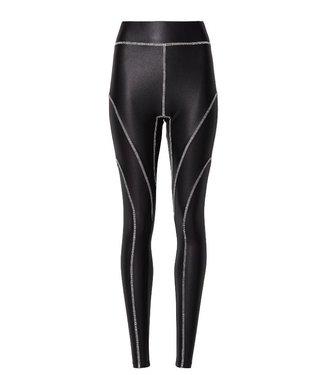 10Days Yoga legging overlock zwart 20-023-9103