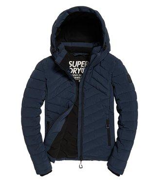 Superdry Kuji stretch jacket donkerblauw W5000035A
