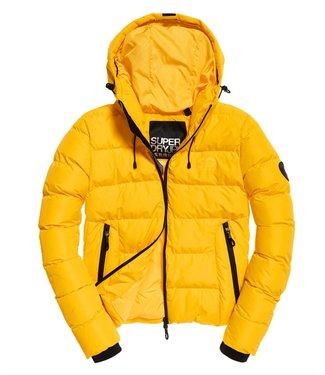 Superdry Spirit puffer icon jacket geel W5000058A