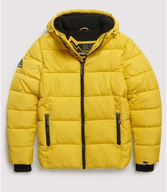 Superdry Sports puffer geel M5000083A