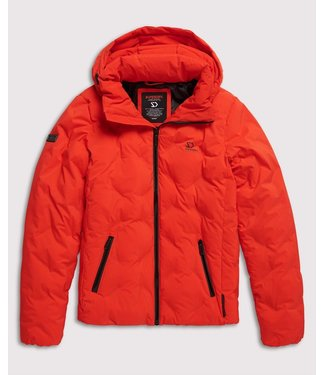 Superdry New echo quilt puffer oranje M5000066A