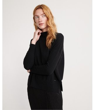 Superdry Jayden luxe jumper zwart W6100014A