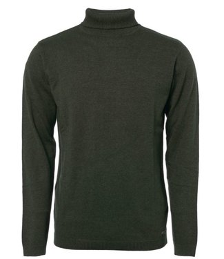 No Excess Pullover Roll neck, dk army 92230912