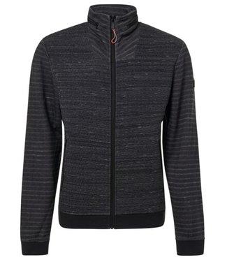 No Excess Sweater, full zip Cardigan, black 92100906