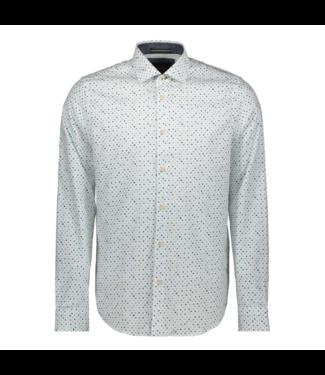 Vanguard Long Sleeve Shirt Print Bright White VSI196402-7003