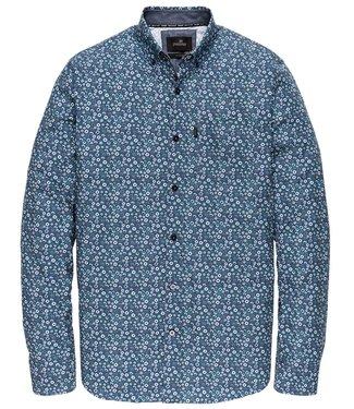 Vanguard Long Sleeve Shirt CF Print Navy Blazer VSI196400-5286