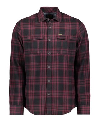 PME Legend Long Sleeve Shirt Check Winetasting PSI196212-4092