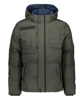 PME Legend Hooded jacket SNOWBURST 2.0 Beluga PJA196117-8039