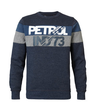 Petrol Industries Sweater r-neck donkerblauw M-3090-SWR309