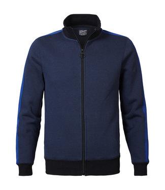 Petrol Industries Sweater collar blauw M-3090-SWC319