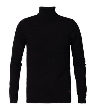 Petrol Industries Knitwear collar zwart M-3090-KWC204