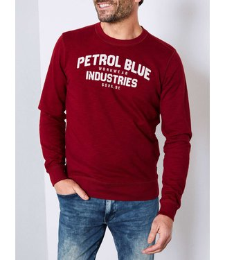 Petrol Industries Sweater r-neck rood M3090-SWR307