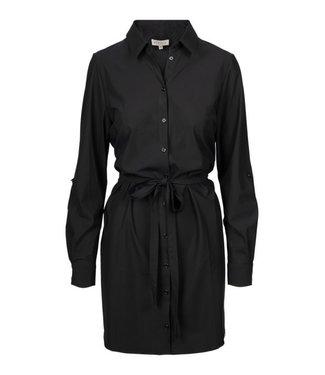 Zusss Fijn blousejurkje travel zwart 03bl19nbzw