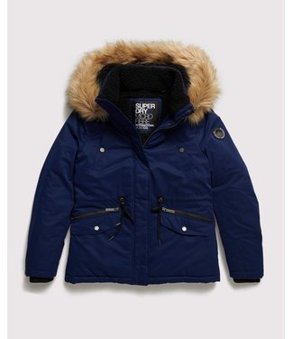 Superdry Alpine microfibre jacket blauw W5000004A
