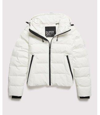 Superdry Spirit puffer icon jacket wit W5000058B