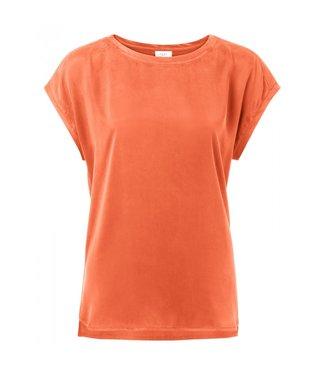Yaya Basic T-shirt BRIGHT ORANGE 1901116-924