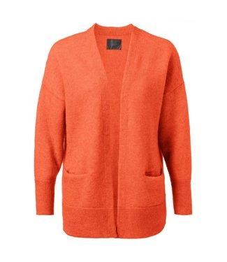 Yaya Cardigan with pockets BRIGHT ORANGE 101068-924