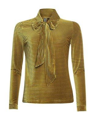 Poools Blouse scarf geel 933278