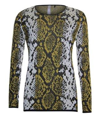 Poools Sweater snake geel 933271