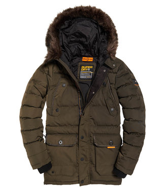 Superdry Chinook parka groen M5000009A