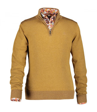 State of Art Pullover Sportzip cognac 133-29851-8484